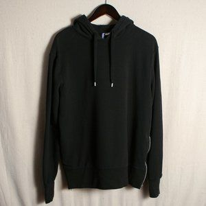 H&M Hooded Sweatshirt with Side Zippers